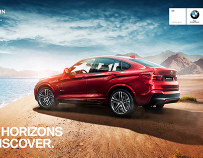 BMW Egypt X Series Summer Campaigns
