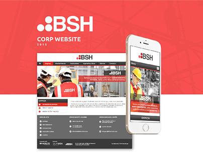SITIO WEB - BSH