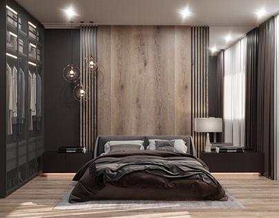 Brutal bedroom
