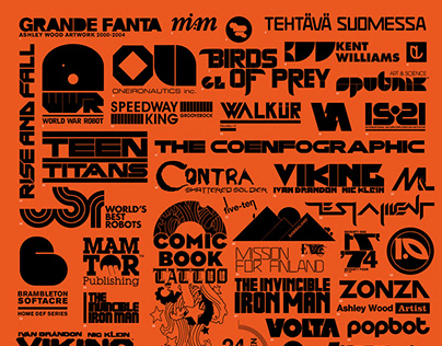 Logos, Brand marks, and identities 2000—2011
