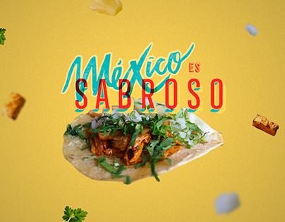 México es sabroso. Branding
