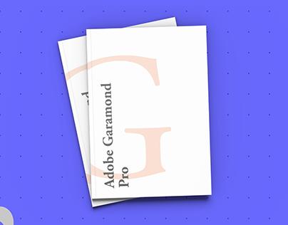 Garamond font book