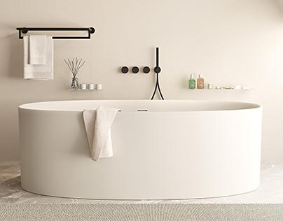 Project Ideavit Bathroom in Corona 4D