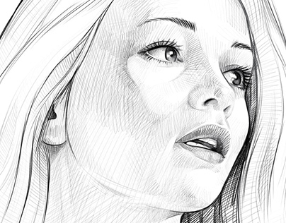 Photoshop Pencil Portrait