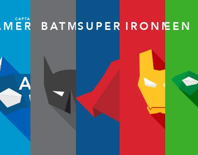 Super Heroes Vol. ii