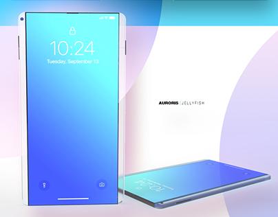 AURORIS | Jellyfish - cellphone concept