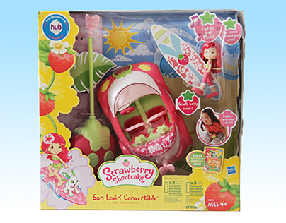 Strawberry Shortcake Rebrand Project - Hasbro