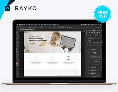 FREE - Rayko PSD Home