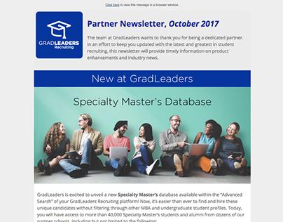 GradLeaders | Customer Newsletter