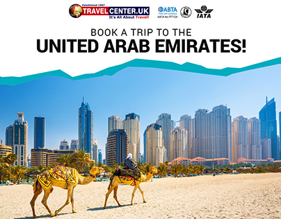 Book a trip to the United Arab Emirates!