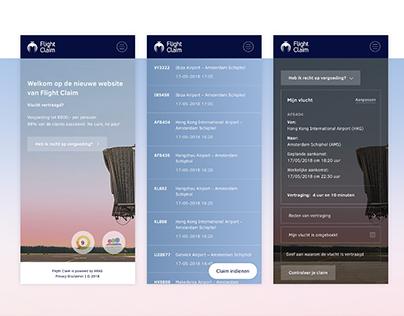 Flight Claim - Website