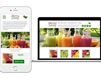 Penny Juice Website
