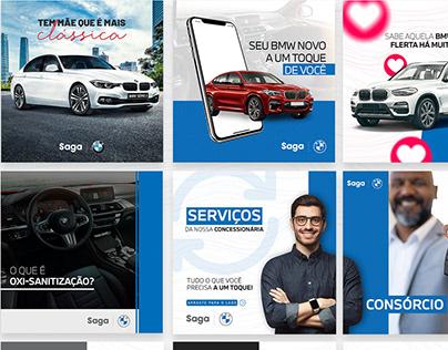 Social Media - Saga BMW | Saga Jeep