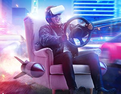 "NEW POSTER ""VR"""