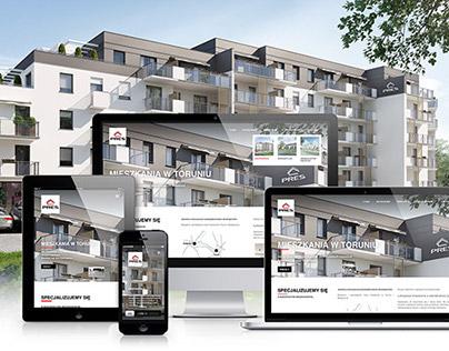PRES Development - responsive website