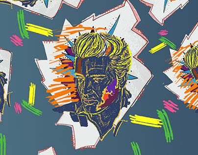 Elvis Presley pattern