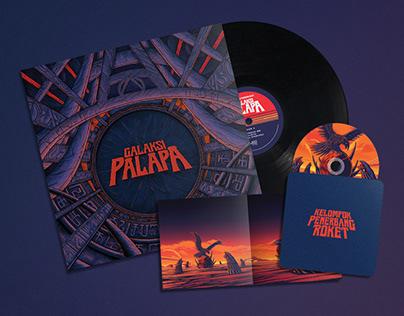 'Galaksi Palapa' EP by Kelompok Penerbang Roket