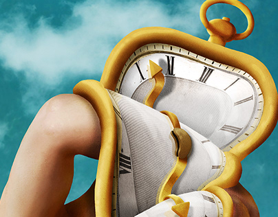 The Persistence of Time - Dali inspired