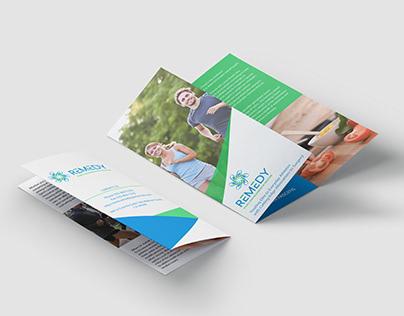 Remedy - Trifold Brochure