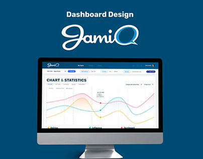 JamiQ - UI Dashboard Design