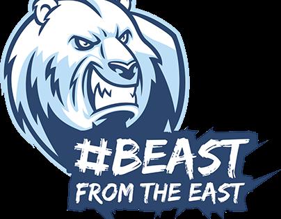 #BeastFromTheEast Animation