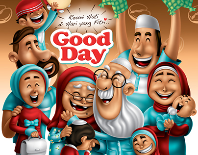 GOOD DAY GAUL CREATION (REUNI HATI DI HARI YANG FITRI)