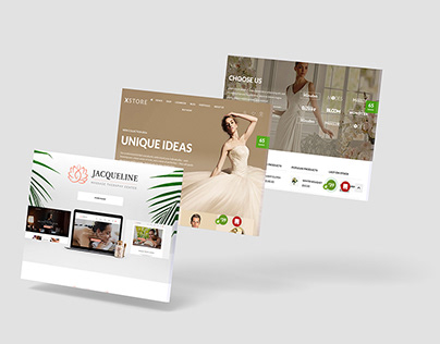 3D Web Showcase Mockup