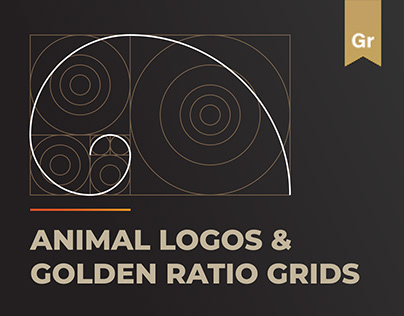 Animal Logos and Golden Ratio Grids