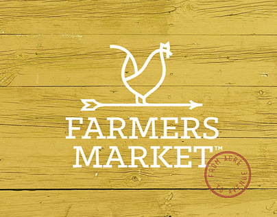 Farmers Market brand identity for Overstock