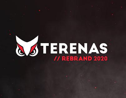 Terenas // Rebrand 2020