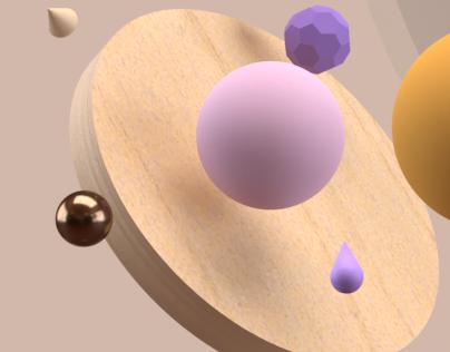 3D Abstrait