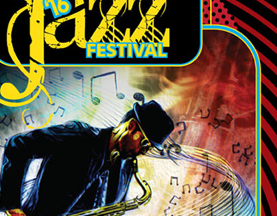 Rehoboth Beach 2016 Jazz Fest Poster