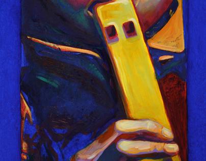 "Projet: Portraits ""Regard-moi,  Little David I"", 2010"