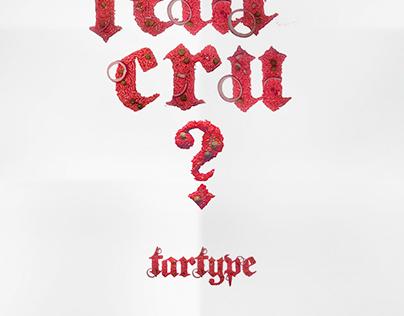 Tartype - Typographie en viande