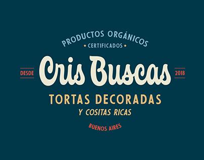 Cris Buscas -Tortas decoradas- Branding