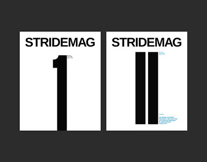 Stride Mag 1st and 2st issues