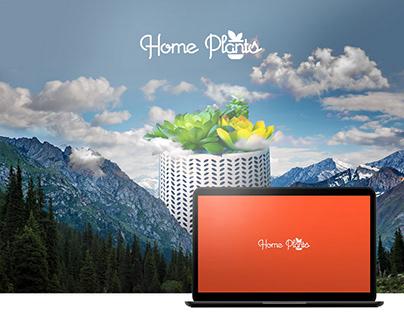 Home Plants - UX/UI Design