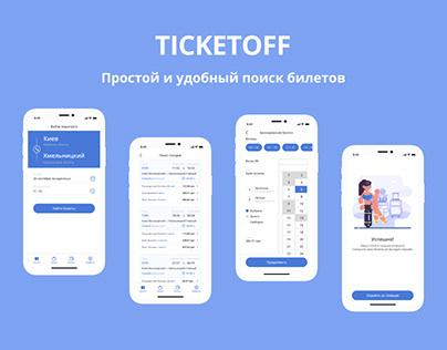 TICKETOFF — Mobile App