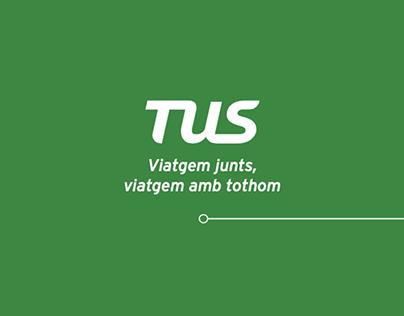 TUS. Transports Urbans de Sabadell - Flyer