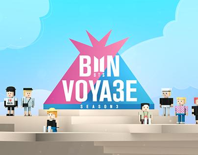 BTS BON VOYAGE S3 Brand Design