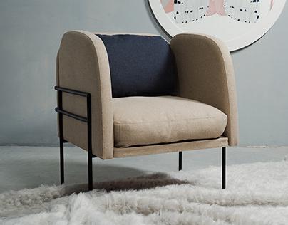 "Armchair ""Korsi"""