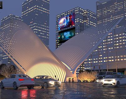 3D Visualization For Oculus, World Trade Center