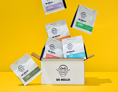 De Mello Coffee Roaster - Rebrand