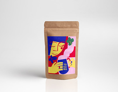 Coffee packaging design for To.Kawa