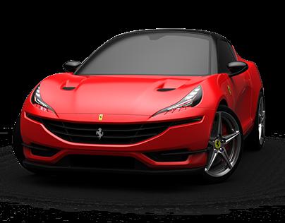 Ferrari Hatchback conceptcar
