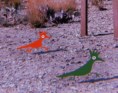 Chihuahuan Roadrunners