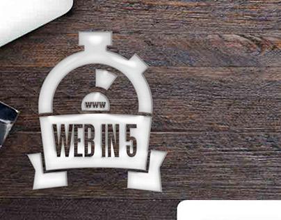 Web In 5 Logo
