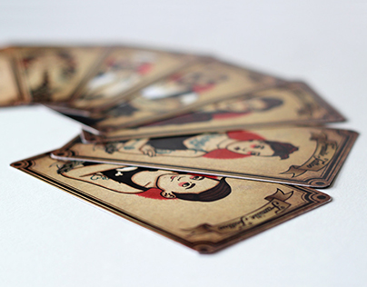 Tattoo family | Playing cards