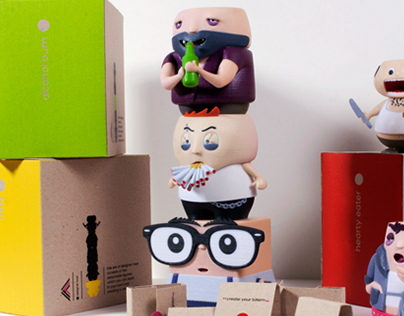 TYPICAL ME / Designer Toys - Identity & Packaging