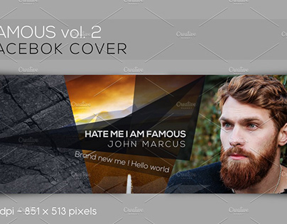 Facebook Cover - FAMOUS vol.2